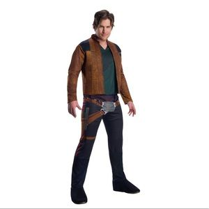 NWT STAR WARS Han Solo costume men's size large